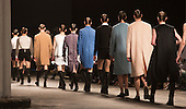 Wednesday, 9 January 2013. London, United Kingdom. Designer J.W. Anderson puts his male models into short dresses and rubber-style boots at a catwalk show during London Collections: Men. Menswear fashion event which used to be part of London Fashion Week. Autum Winter 2013 collection. Photo credit: CatwalkFashion/Alamy Live News