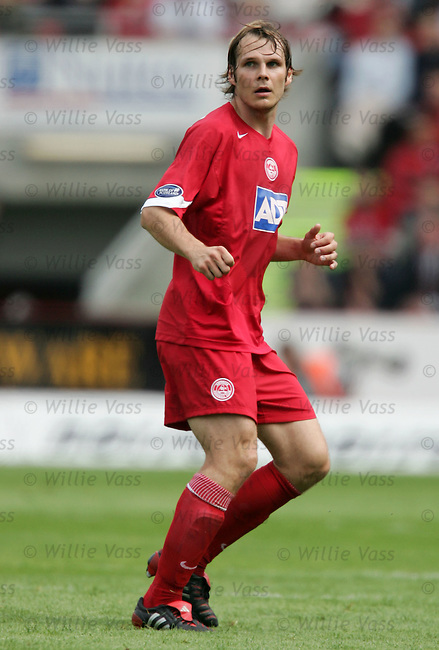 Markus Heikkinen, Aberdeen.stock season 2004-2005.pic willie vass
