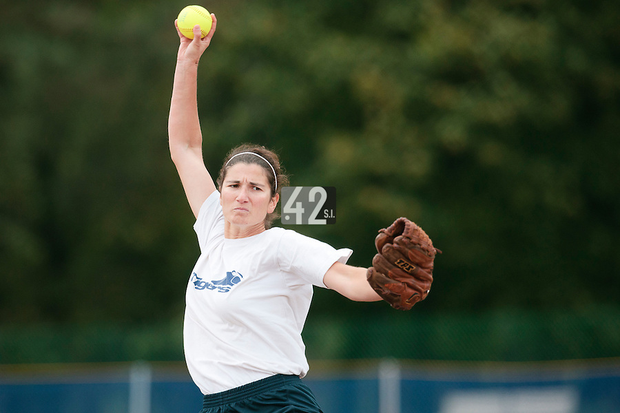 25 September 2010: Equipe de Thiais. Finale du Championnat de France de Softball Feminin, Bron, France.