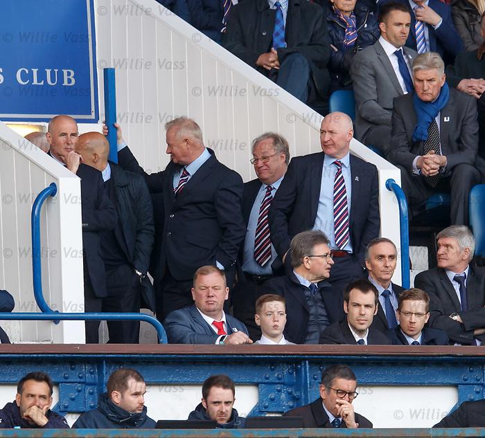 John Brown looks disgusted