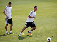 Higuain during Real Madrid´s first training session of 2013-14 seson. July 15, 2013. (ALTERPHOTOS/Victor Blanco) ©NortePhoto