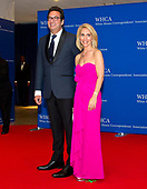 Marc Adelman and Dana Bash arrive for the 2017 White House Correspondents Association Annual Dinner at the Washington Hilton Hotel on Saturday, April 29, 2017.<br /> Credit: Ron Sachs / CNP