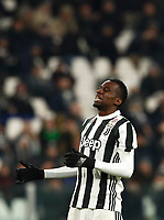 Calcio, Serie A: Juventus - Genoa, Torino, Allianz Stadium, 22 gennaio 2018. <br /> Juventus' Blaise Matuidi reacts during the Italian Serie A football match between Juventus and Genoa at Torino's Allianz stadium, January 22, 2018.<br /> UPDATE IMAGES PRESS/Isabella Bonotto