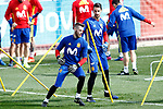 Spain's David De Gea (l) and Sergio Rico during training session. March 21,2017.(ALTERPHOTOS/Acero)