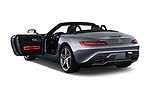 Car images close up view of a 2018 Mercedes Benz AMG GT base 2 Door Roadster doors