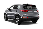 Car pictures of rear three quarter view of a 2019 KIA Sportage EX 5 Door SUV angular rear