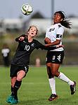 Hannah Blake. OFC U-19 Women's Championship 2017, New Zealand v Fiji, Ngahue Reserve Auckland, Tuesday 11th July 2017. Photo: Simon Watts / www.bwmedia.co.nz