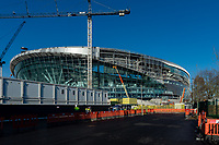 current state of outside building work on the Tottenham Hotspur Stadium Update at High Road, White Hart Lane, London, England on 4 December 2018. Photo by Vince  Mignott.