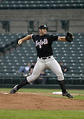 May 26, 2004:  Heath Bell of the Norfolk Tides, Triple-A International League affiliate of the New York Mets, during a game at Frontier Field in Rochester, NY.  Photo by:  Mike Janes/Four Seam Images