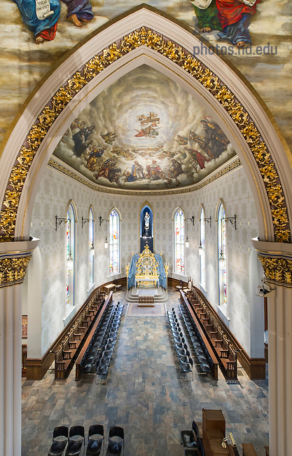July 21, 2016; Lady Chapel in the Basilica of the Sacred Heart. (Photo by Barbara Johnston)