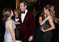 Armie Hammer backstage during the live ABC Telecast of The 90th Oscars&reg; at the Dolby&reg; Theatre in Hollywood, CA on Sunday, March 4, 2018.<br /> *Editorial Use Only*<br /> CAP/PLF/AMPAS<br /> Supplied by Capital Pictures