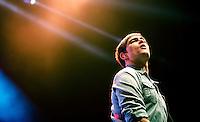 SÃO PAULO, SP, 04.10.2015 - SHOW-SP – A banda Skank durante apresentação na casa de show Tom Brasil, na região sul da capital paulista, neste domingo, 04. (Foto: Andreia Takaishi/Brazil Photo Press)