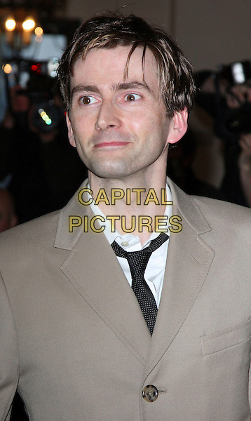 DAVID TENNANT .Evening Standard Theatre Awards at the Royal Opera House, Covent Garden, London, England, UK, .November 24th 2008.portrait headshot black tie .CAP/ROS.©Steve Ross/Capital Pictures