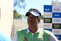Kiradech Aphibarnrat (THA) through to the Matchplay Final of the ISPS Handa World Super 6 Perth at Lake Karrinyup Country Club on the Sunday 11th February 2018.<br /> Picture:  Thos Caffrey / www.golffile.ie<br /> <br /> All photo usage must carry mandatory copyright credit (&copy; Golffile | Thos Caffrey)
