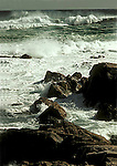 Surf at Neil's Harbour, Nova Scotia, Canada