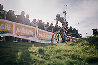 eventual race winner Mathieu van der Poel (NED/Corendon-Circus)<br /> <br /> Elite Men's Race<br /> GP Mario De Clercq / Hotond cross 2018 (Ronse, BEL)