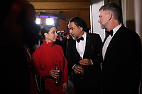 Maya Rudolph and Alejandro G. I&ntilde;&aacute;rritu backstage during the live ABC Telecast of The 90th Oscars&reg; at the Dolby&reg; Theatre in Hollywood, CA on Sunday, March 4, 2018.<br /> *Editorial Use Only*<br /> CAP/PLF/AMPAS<br /> Supplied by Capital Pictures