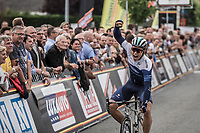 Emils Liepins (LTV/One Pro Cycling) wins the 11th Heistse Pijl 2018<br /> <br /> Turnhout > Heist-op-den Berg 194km (BEL)