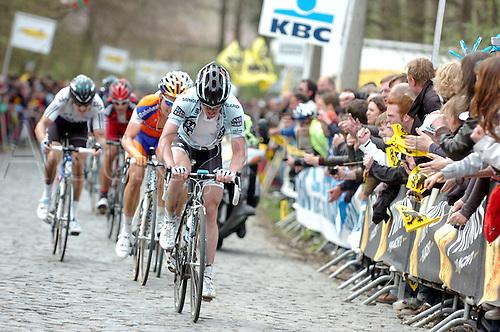 04.04.2011. Tour des Flanders Belgium.  Saxo Bank - Sungard 2011, Nuyens Nick, Bosberg