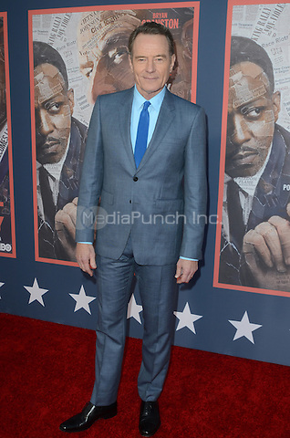 HOLLYWOOD, CA - MAY 10: Bryan Cranston at the 'All The Way' Los Angeles Premiere at Paramount Studios on May 10, 2016 in Hollywood, California. Credit David Edwards/MediaPunch