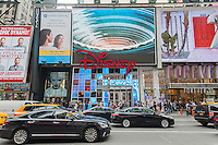 The Disney store in Times Square in New York on Tuesday, May 10, 2016. The Walt Disney Co. is expected to report its second-quarter earnings after the bell today. (©Richard B. Levine)
