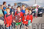 Darragh O'Grath, Seamie O'Grath, David O'Sullivan, Darragh Donnelly, David O'Grady at the Ballyheigue Summer Festival Grand Parade on Sunday