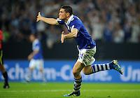 FUSSBALL   EUROPA LEAGUE   SAISON 2011/2012   Play-offs FC Schalke 04 - HJK Helsinki                                25.08.2011 Jubel nach dem 4:1: Kyriakos PAPADOPOULOS (Schalke)