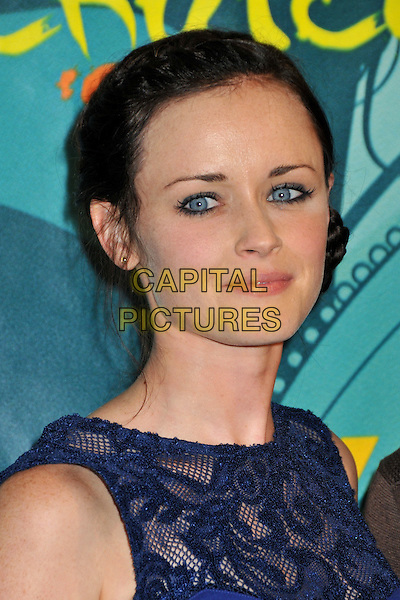ALEXIS BLEDEL .Teen Choice Awards 2009 - Press Room held at the Gibson Amphitheatre, Universal City, CA, USA.August 9th, 2009.pressroom headshot portrait black blue lace .CAP/ADM/BP.©Byron Purvis/AdMedia/Capital Pictures.