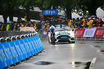 Geraint Thomas (WAL) Team Sky in action during Stage 1, a 14km individual time trial around Dusseldorf, of the 104th edition of the Tour de France 2017, Dusseldorf, Germany. 1st July 2017.<br /> Picture: Eoin Clarke | Cyclefile<br /> <br /> <br /> All photos usage must carry mandatory copyright credit (&copy; Cyclefile | Eoin Clarke)