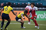 Chiharu Nakamura (JPN), <br /> AUGUST 31, 2018 - Rugby : Women's Preliminary round Group B match between Japan 26-0 Thailand at Gelora Bung Karno Rugby Field during the 2018 Jakarta Palembang Asian Games in Jakarta, Indonesia. <br /> (Photo by MATSO.K/AFLO SPORT)