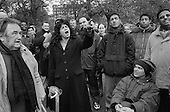 Speakers' Corner, Hyde Park, London; 2001.