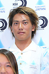 Shyun Murakami, <br /> AUGUST 4, 2016 - Surfing : <br /> Nippon Surfing Association holds a press conference after it was decided that <br /> the sport of surfing would be added to the Tokyo 2020 Summer Olympic Games on August 3rd, 2016 <br /> in Tokyo, Japan. <br /> (Photo by AFLO SPORT)