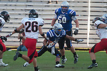 Friendswood Mustangs played Lake Travis Cavs at Kyle Field on December 11, 2010 in the Class 4A, D-1 state semifinals.