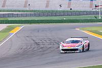 VALENCIA, SPAIN - OCTOBER 2: David Gostner during Valencia Ferrari Challenge 2015 at Ricardo Tormo Circuit on October 2, 2015 in Valencia, Spain