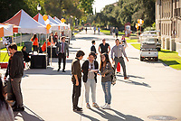 Explore Occidental - Fall Preview Day, Friday, November 9, 2018.<br /> Fall open house to give prospective students and their families the opportunity to explore Occidental with tours of campus, student and faculty-led discussions, the ability to sit in on a class, and to learn what it means to be an Oxy Tiger.<br /> (Photo by Marc Campos, Occidental College Photographer)