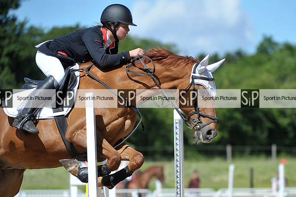 Class 1. British showjumping seniors. Brook Farm training centre. Essex. 04/06/2017. MANDATORY Credit Garry Bowden/Sportinpictures - NO UNAUTHORISED USE - 07837 394578