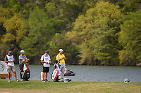 Hideki Matsuyama (JPN) waits to tee off on 14 during day 2 of the WGC Dell Match Play, at the Austin Country Club, Austin, Texas, USA. 3/28/2019.<br /> Picture: Golffile | Ken Murray<br /> <br /> <br /> All photo usage must carry mandatory copyright credit (© Golffile | Ken Murray)