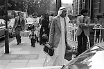 ARABS in LONDON 1970s BRITAIN