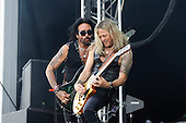 THE DEAD DAISIES - Marco Mendoza and David Lowry - performing live on Day One of the Ramblin' Man Fair in Mote Park Maidstone Kent UK - 23 Jul 2016. Photo credit: Zaine Lewis/IconicPix