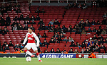 A sparse Arsenal crowd during the Europa League Group H match at The Emirates Stadium, London. Picture date: December 7th 2017. Picture credit should read: David Klein/Sportimage