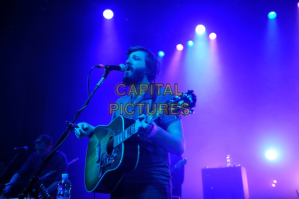 LONDON, ENGLAND - February 26: Eric Pulido of Midlake performs in concert at the o2 Shepherd's Bush Empire on February 26, 2014 in London, England<br /> CAP/MAR<br /> &copy; Martin Harris/Capital Pictures
