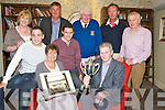 Pictured at the launch of the Killarney Regatta in the International Hotel, Killarney on Wednesday evening were Anne, David and Brian Looney, Dan Cronin, Maureen O'Donoghue, Pat Cronin, John Kelly, John Cronin and Richard Leane. ................................................................