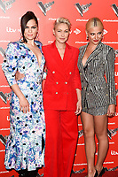 Jessie J, Emma Willis and Pixie Lott<br /> at The Voice Kids 2019 photocall, London<br /> <br /> ©Ash Knotek  D3506  06/06/2019