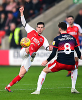 Fleetwood Town's Jason Holt in action<br /> <br /> Photographer Richard Martin-Roberts/CameraSport<br /> <br /> The EFL Sky Bet League One - Fleetwood Town v Doncaster Rovers - Wednesday 26th December 2018 - Highbury Stadium - Fleetwood<br /> <br /> World Copyright © 2018 CameraSport. All rights reserved. 43 Linden Ave. Countesthorpe. Leicester. England. LE8 5PG - Tel: +44 (0) 116 277 4147 - admin@camerasport.com - www.camerasport.com