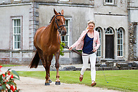 NZL-Amanda Goldsbury presents Bridie during the First Horse Inspection for the Blarney Castle CCI2*-L. 2019 IRL-Sema Lease Camphire International Horse Trials. Cappoquin. Co. Waterford. Ireland. Wednesday 24 July. Copyright Photo: Libby Law Photography