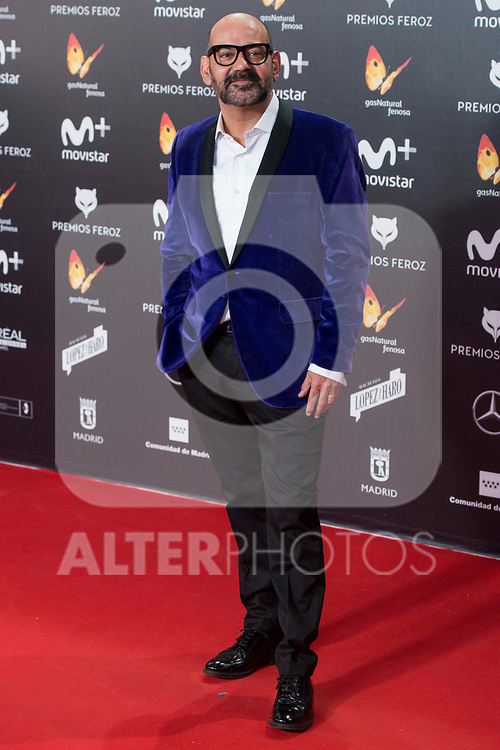 Jose Corbacho attends red carpet of Feroz Awards 2018 at Magarinos Complex in Madrid, Spain. January 22, 2018. (ALTERPHOTOS/Borja B.Hojas)