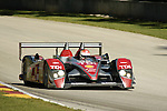 08 August 2008: The Audi Sport North America Audi R10 TDI, driven by Emanuele Pirro (ITA), at the Generac 500  at Road America, Elkhart Lake, Wisconsin, USA.