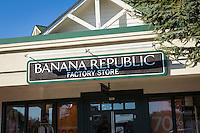 Banana Republic store is pictured in Tanger Outlets in Sevierville,  Tennessee Thursday March 20, 2014.