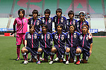 U-20 U-20 Women's Japan National Team Group Line-Up (JPN), .JUNE 17, 2012 - Football / Soccer : U-20 Japan women's national team players (Top row - L to R) Sakiko Ikeda, Shiori Kinoshita, Ayaka Michigami, Haruka Hamada, Tomoko Muramatsu, Ayu Nakata, (Bottom row - L to R) Yushika Nakamura, Yoko Tanaka, Mina Tanaka, Hikaru Naomoto, Kumi Yokoyama, .International Friendly match between .Japan 1-0 U.S.A.at Nagai Stadium, Osaka, Japan. (Photo by Akihiro Sugimoto/AFLO SPORT) [1080]