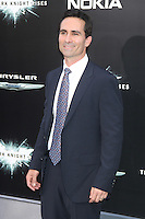 NEW YORK, NY - JULY 16:  Nestor Carbonell at 'The Dark Knight Rises' premiere at AMC Lincoln Square Theater on July 16, 2012 in New York City.  © RW/MediaPunch Inc.